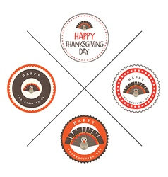 Thanksgiving Day Sticker vector image