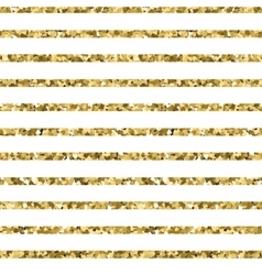 Abstract gold glitter striped background sparkles vector image vector image