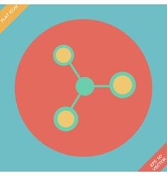 Molecule Icon - vector image