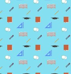 Back to School Flat design modern seamless vector image