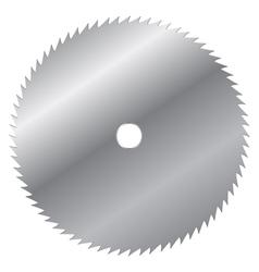 saw blade vector image vector image