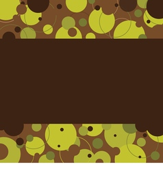 Brown Graphic Background With Space vector image
