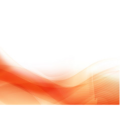 Curve and blend light orange abstract background vector