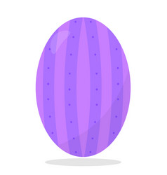 Cute easter egg vector