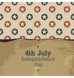 Independence day vintage poster template vector