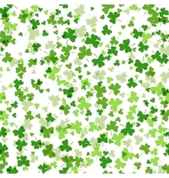 seamless pattern for St Patricks Day vector image