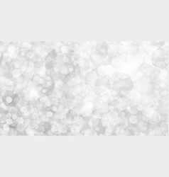 White abstract background of small hexagons vector