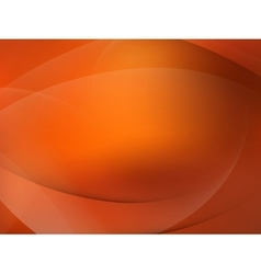 Abstract orange mooth twist light lines EPS 10 vector image