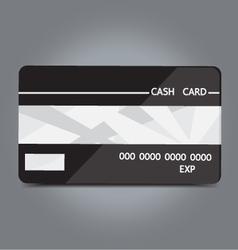 cash card vector image