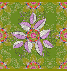 Cute floral pattern in the small flower seamless vector