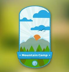 Traveler Badge vector image