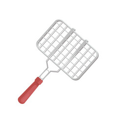 Bbq cooking tool grille icon vector