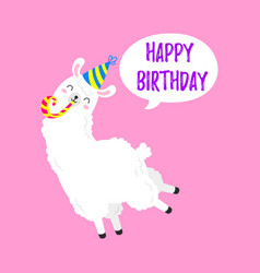 Birthday Lama Vector Images (over 200)