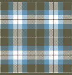 blue and gray tartan plaid seamless pattern vector image