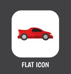 Car symbol on automobile vector