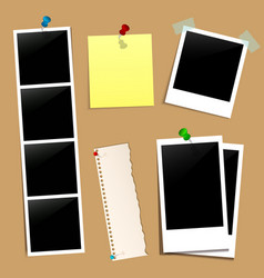 cork note paper photo picture vector image