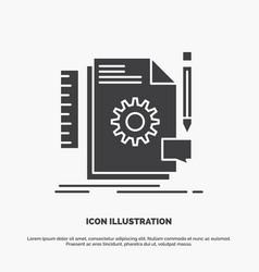 creative design develop feedback support icon vector image