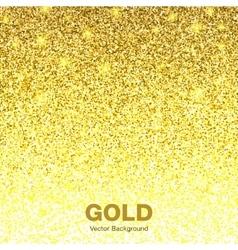 Golden Bright Glowing Gradient Background vector