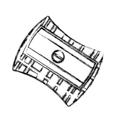 Pencil sharpener isolated vector