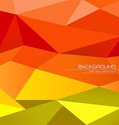 Polygon abstract background vector