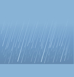 Rain drops background image of wet day vector