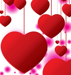 Valantine Day isolated on white background vector image vector image