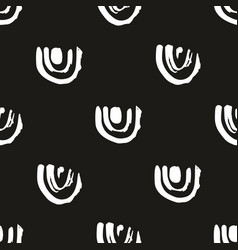abstract seamless pattern on a black background vector image vector image