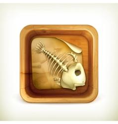 Dead pet icon vector image