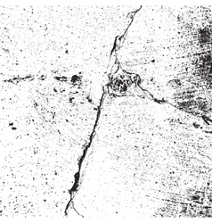 Distressed Cracked Texture vector image