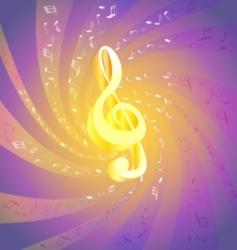 art music vector image