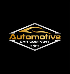 automotive logo icon design template vector image