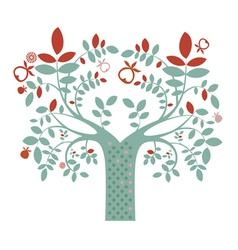 Fantasy tree vector