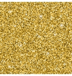 Golden glitter pattern vector image