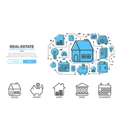 House icons design vector image