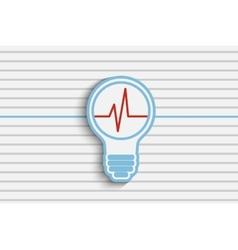 Idea energy vector image