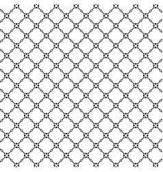 lattice pattern with trendy lattice on a white vector image