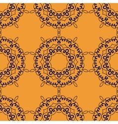 Mandala postcard wallpaper tile Ornamental vector image