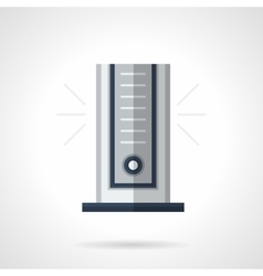 Modern climatic appliance flat color icon vector image