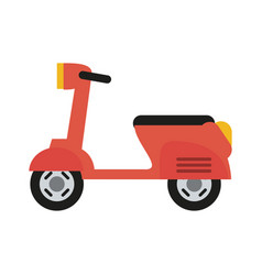 Motorcycle icon image vector