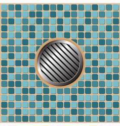 Pool floor vector