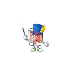 Sazerac magician character on a cartoon vector