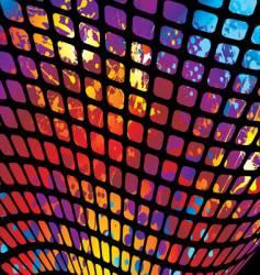 splat mesh vector image vector image