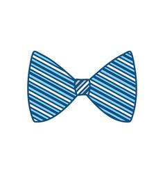 fashion bow tie vector image vector image
