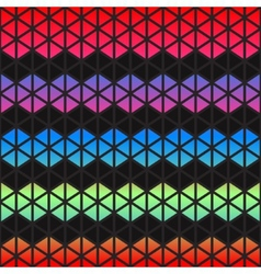 Abstract colorful Geometric triangles background vector image vector image