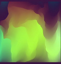 abstract creative fluid multicolored blurred vector image