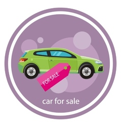 Car sale design template vector