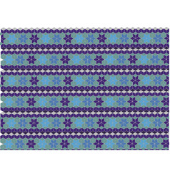 geometric shaped pattern vector image