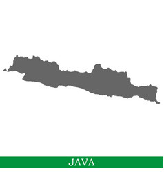 High quality map of iisland vector