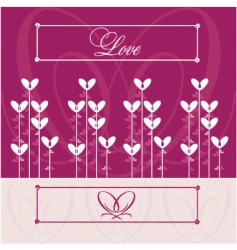 love wedding vector image