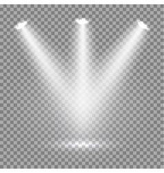 Scene illumination transparent effects on a plaid vector image